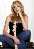 alexz johnson, girl, guitar