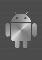 android, steel, gray
