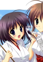 anime girl, sakura, building
