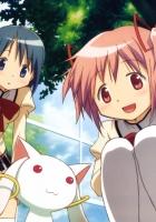 anime, girls, street