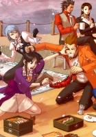 anime, picnic, emotions