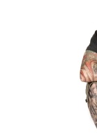 anthrax, tattoo, tongue