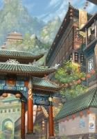 art, asia, building
