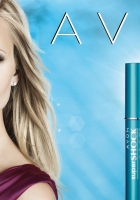 avon, super shock max mascara, girl