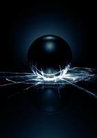 ball, crack, glass