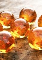 ball, star, glass