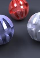 balloons, shapes, slits