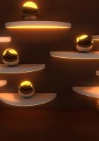 balls, lights, glitter