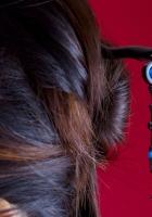 barrette, head, hair