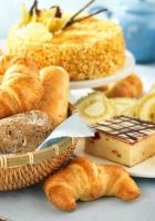 batch, croissants, bread