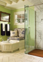 bathroom, shower, room