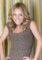 becki newton, dress, blonde hair