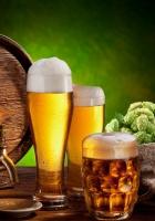 beer, barrel, bottle