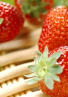 berry, strawberry, basket