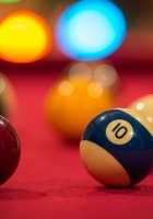 billiards, table, colorful