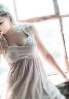 blonde, dress, mood