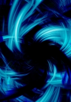 blue, black, abstract