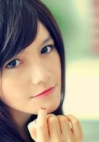 blue eyes, face, model