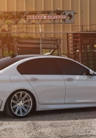 bmw, side view, white