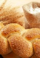 bread, sesame, bag