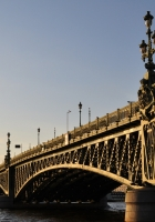 bridge, river, st petersburg