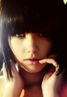 brunette, shadow, cut