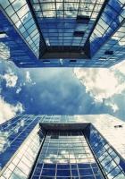 buildings, skyscrapers, sky