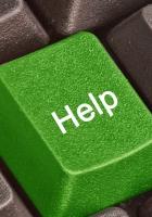 button, help, keyboard