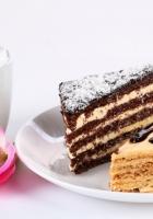 cake, coffee, cinnamon