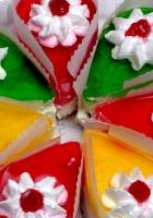 cake, jelly, dessert