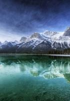 canada, lake, transparent