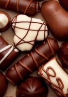 candies, chocolate, figures