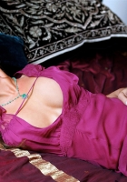 carmen electra, blonde, dress