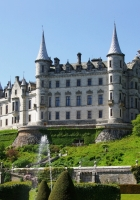 castle, scotland, park