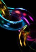 chain, form, multicolored