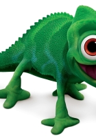 chameleon, green, fun