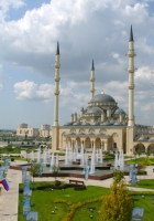 chechnya, mosques, fountains