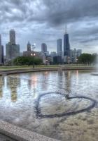 chicago, illinois, fountain