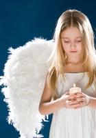 child, girl, angel