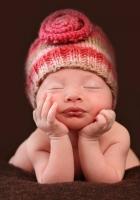 child, hats, eyes