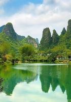 china, pond, coast