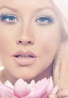 christina aguilera, flower, blonde