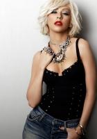 christina aguilera, jeans, blonde