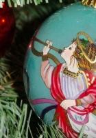 christmas decorations, balloon, angel