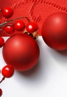 christmas decorations, balloons, branch