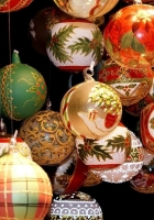 christmas decorations, balloons, patterns