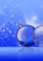 christmas decorations, balloons, twinkling