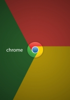 chrome, logotype, color