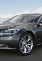 chrysler 300, black, stylish