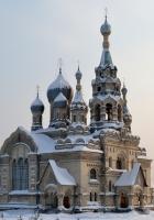 church, village, spassky church